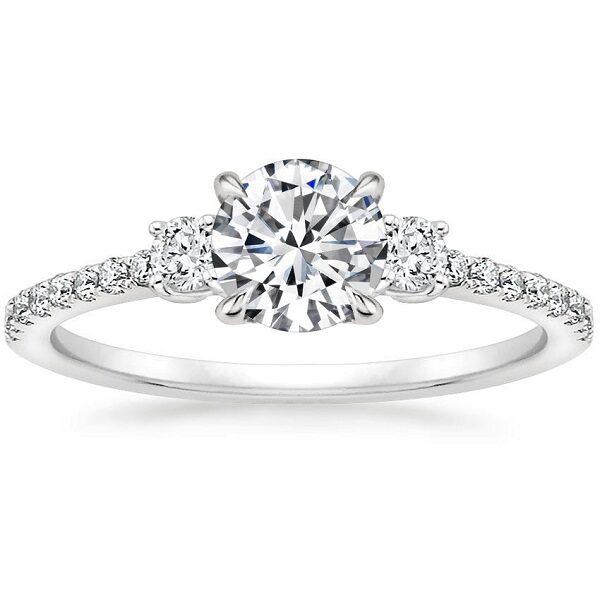 Δαχτυλίδια γάμου με διαμάντια