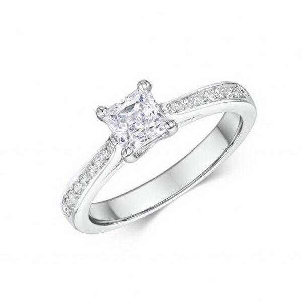 Πιστοποιημένα διαμάντια σε μονόπετρα δαχτυλίδια