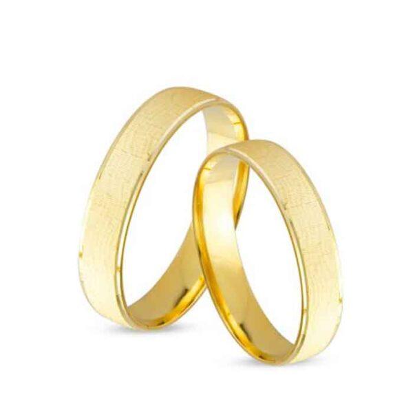 Χρυσές κλασικές βέρες γάμου σε 14Κ